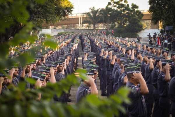 Durante curso para formação de sargentos em São Paulo, policiais de Rio Claro Tomasini e Sérgio receberam convite para integrar efetivo das Olimpíadas
