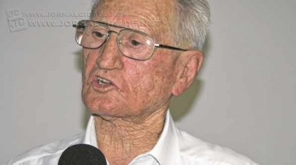 O veterano Mário Zaia, do Solidariedade