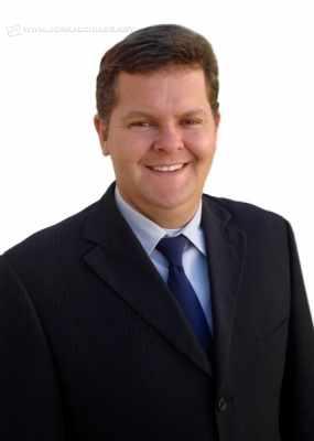 O vereador Juninho da Padaria, do Democratas, é candidato a prefeito