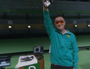 Felipe Wu, primeiro medalhista brasileiro nos Jogos Olímpicos Rio 2016 (Foto SporTV)