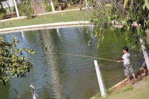 Para quem quer mais calmaria, o lago para pesca