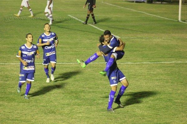GOL: Medina foi o autor dos dois tentos do Rio Claro Futebol Clube na partida de quarta-feira (28)