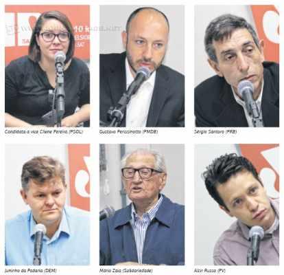 Maioria dos candidatos a prefeito citou a dívida de R$ 51 milhões da prefeitura junto ao Instituto de Previdência de Rio Claro (IPRC)