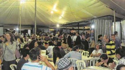 As festividades acontecem durante todos os finais de semana do mês de setembro