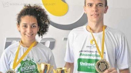 TAEKWONDO: ambos os atletas pertencentes à Academia Pro Team da Cidade Azul foram eleitos os melhores da competição