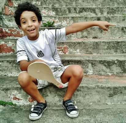 Bento, filho do escritor Lucas Carrasco, que inspira crônicas, várias delas publicadas no Jornal Cidade