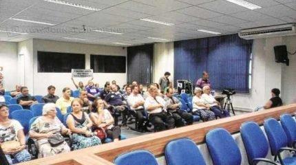 Moradores do Jardim São Paulo - contrários à liberação de gabarito na região - estiveram na Câmara para se posicionar contra Plano Diretor