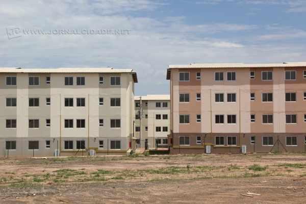 Segundo construtora, apartamentos já estariam prontos