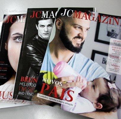 Faça parte de uma matéria da JC Magazine. Conhece alguém que promoveu o bem? Uma história interessante? Envie pra nós!