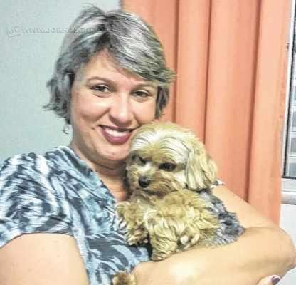 Kelli Sargentelle e Brian aparecerão na revista e um breve relato dessa linda relação estampará o mural de pets da nova JC Magazine