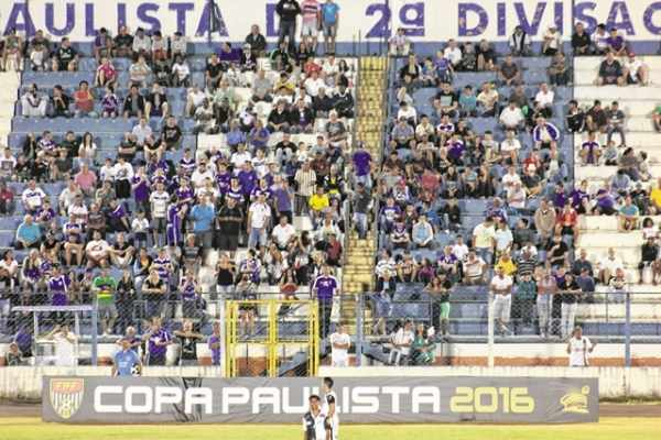 GARRA!: a equipe do RCFC não perdeu nenhuma partida no Estádio Dr. Augusto Schmidt Filho