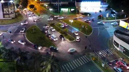 Novas tarifas de multas passam a vigorar nesta terça-feira (1º) (Foto aérea: Bruno Leite)