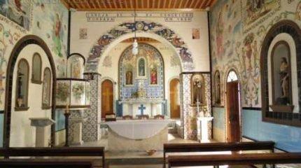 Fundado em 1852, o Santuário de N. Srª da Conceição preserva grande parte dos atributos originais