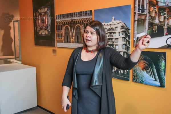 Priscyla Gomes, curadora associada do Instituto Tomie Ohtake. (Foto: Angela Amaral)