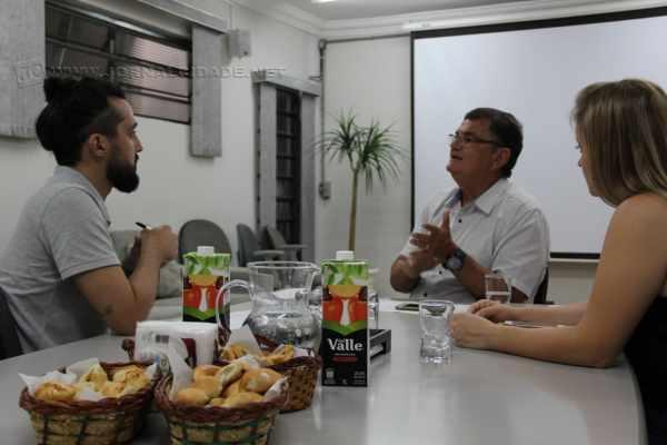 O secretário de mobilidade José Maria Chiossi em entrevista ao JC