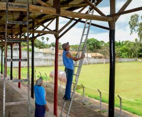 Este é o sétimo campo em que a prefeitura de Rio Claro providencia melhorias como forma de ampliar o incentivo ao futebol amador