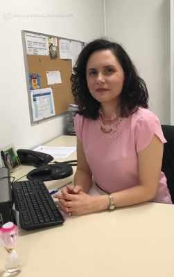 A analista de Recursos Humanos, Késia F. Pitta, responsável pelo setor de contratação de uma grande empresa da cidade