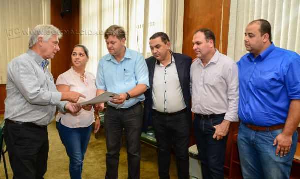 Informação foi transmitida ao prefeito Juninho da Padaria, em reunião realizada na última quinta-feira (05) com Alfredo Luiz Brienza Coli, técnico responsável da empresa pública vinculada ao Ministério da Agricultura.