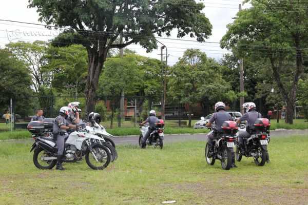 Operação ostensiva da Polícia Militar coloca mais de 40 oficiais nas vias públicas de Rio Claro