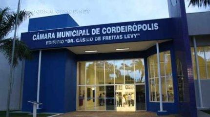 Reforma no novo prédio da Câmara Municipal de Cordeirópolis foi inaugurada na última semana de dezembro e custou R$ 1 milhão