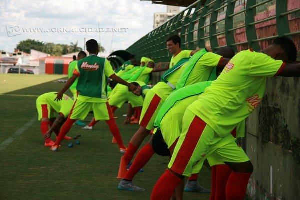 FOCO: atletas treinaram duro entre o Natal e o Réveillon