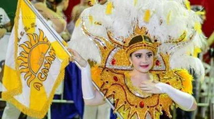 Toda a alegria da A Casamba será levada ao Jardim Público neste domingo de Carnaval