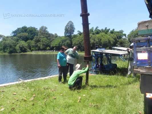 Réptil foi encontrado em uma tubulação na represa de Cascalho