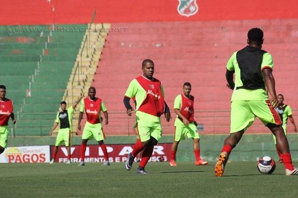 Comandados por Álvaro Gaia também treinaram no Benitão