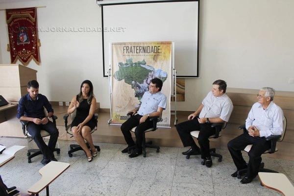 Uma coletiva reuniu autoridades da Diocese de Piracicaba e falou sobre a CF há algumas semanas