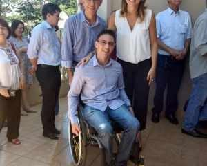 Yves Carbinatti apresentou algumas demandas dos rio-clarenses à deputada ítalo-brasileira Renata Bueno
