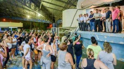 Prefeitura agora oferece aulas de zumba também no CSU Bairro do Estádio, às terças e quintas-feiras, às 19 horas. Modalidade também é oferecida em outros seis pólos na cidade.