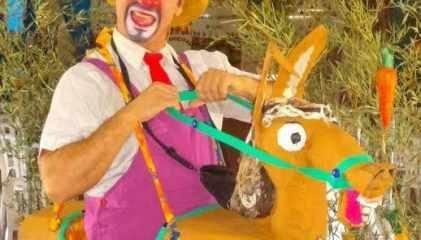 Teatro de Fantoches, pocket show do Palhaço Jeca e contação de histórias estão entre as atividades do sábado e domingo