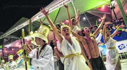Escola de samba Unidos da Vila Alemã convida o público para festa junto à sua comunidade