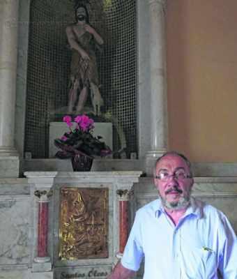 Padre Antonio Portilho convida a comunidade para celebrar São João Batista, padroeiro da cidade