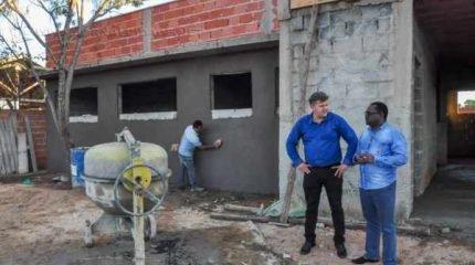 Construção da Unidade de Saúde da Família do São Miguel estava paralisada há mais de ano.