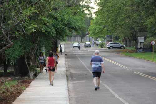 Unesp é um dos locais mais utilizados pela população para a prática de exercícios físicos ao ar livre
